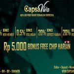 Capsaviva Situs Judi Poker Online | Capsasusun | Dominobet